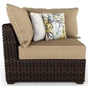 Signature Design by Ashley Spring Ridge Set of 2 Corner Chairs with Cushions