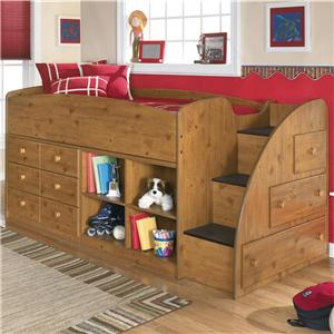 Signature Design by Ashley Stages Twin Loft Bed