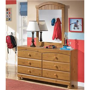 Signature Design by Ashley Furniture Stages Dresser and Mirror