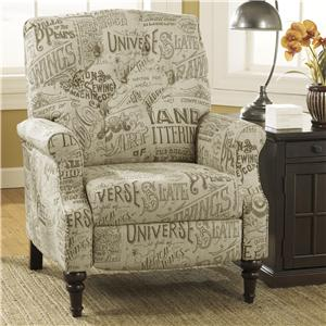 Signature Design by Ashley Stahlworth - Script High Leg Recliner