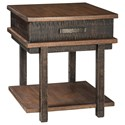 Signature Design by Ashley Eero Rectangular End Table - Item Number: T892-3