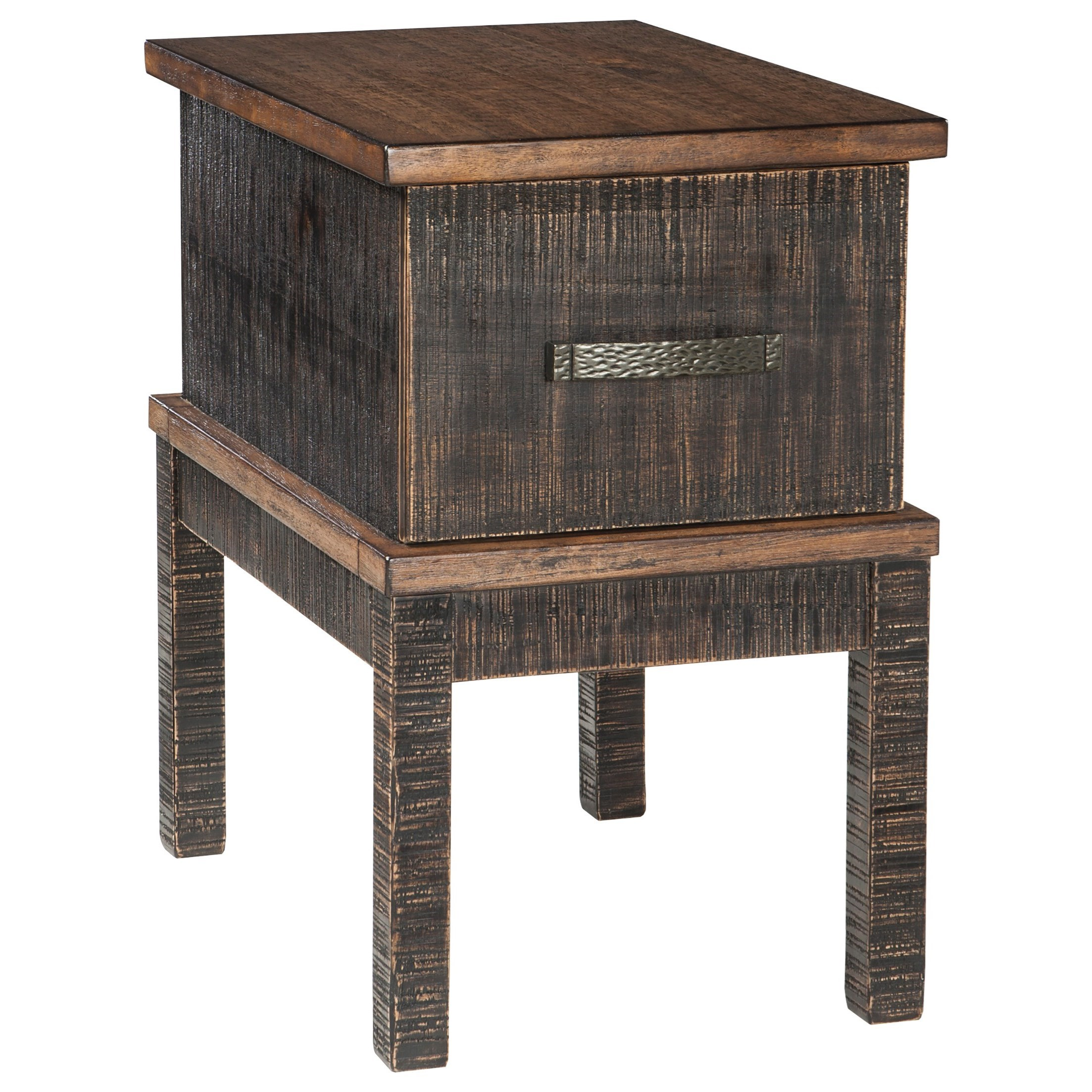 Signature design by ashley stanah chair side end table for Outlet del design