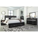 Signature Design by Ashley Starberry King Bedroom Group - Item Number: B304 K Bedroom Group 2