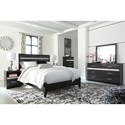 Signature Design by Ashley Starberry Queen Bedroom Group - Item Number: B304 Q Bedroom Group 1