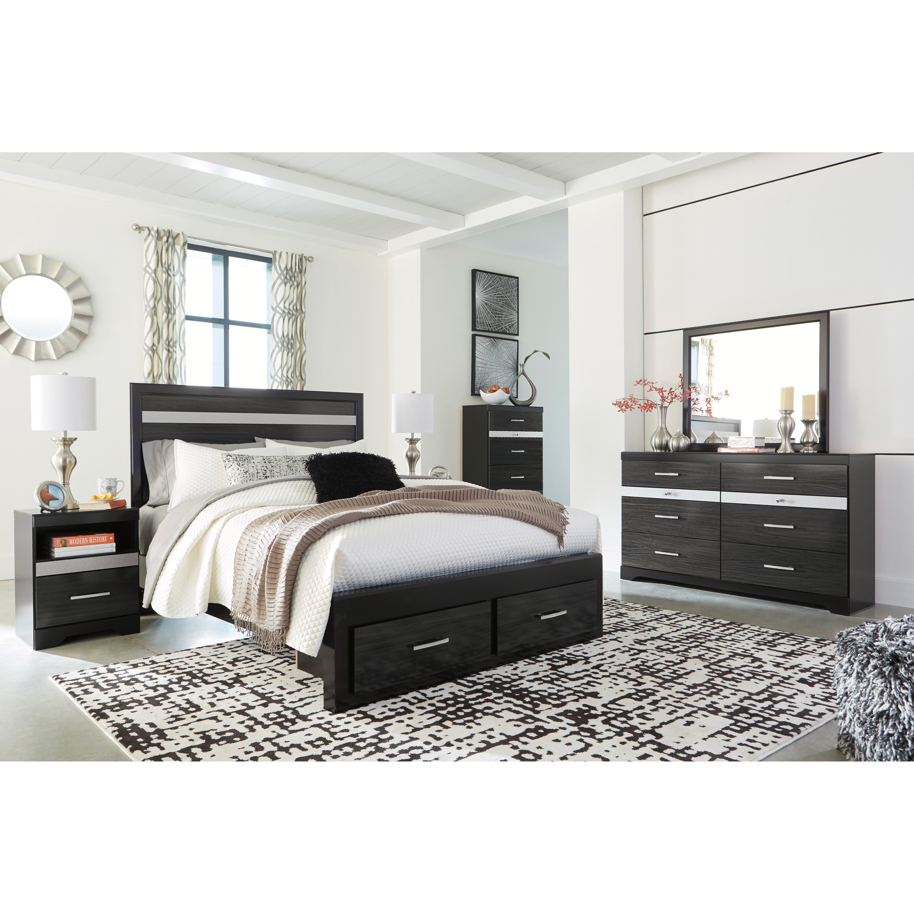 Ashley Furniture Superstore: Signature Design By Ashley Starberry Queen Bedroom Group