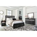Signature Design by Ashley Starberry Queen Bedroom Group - Item Number: B304 Q Bedroom Group 2