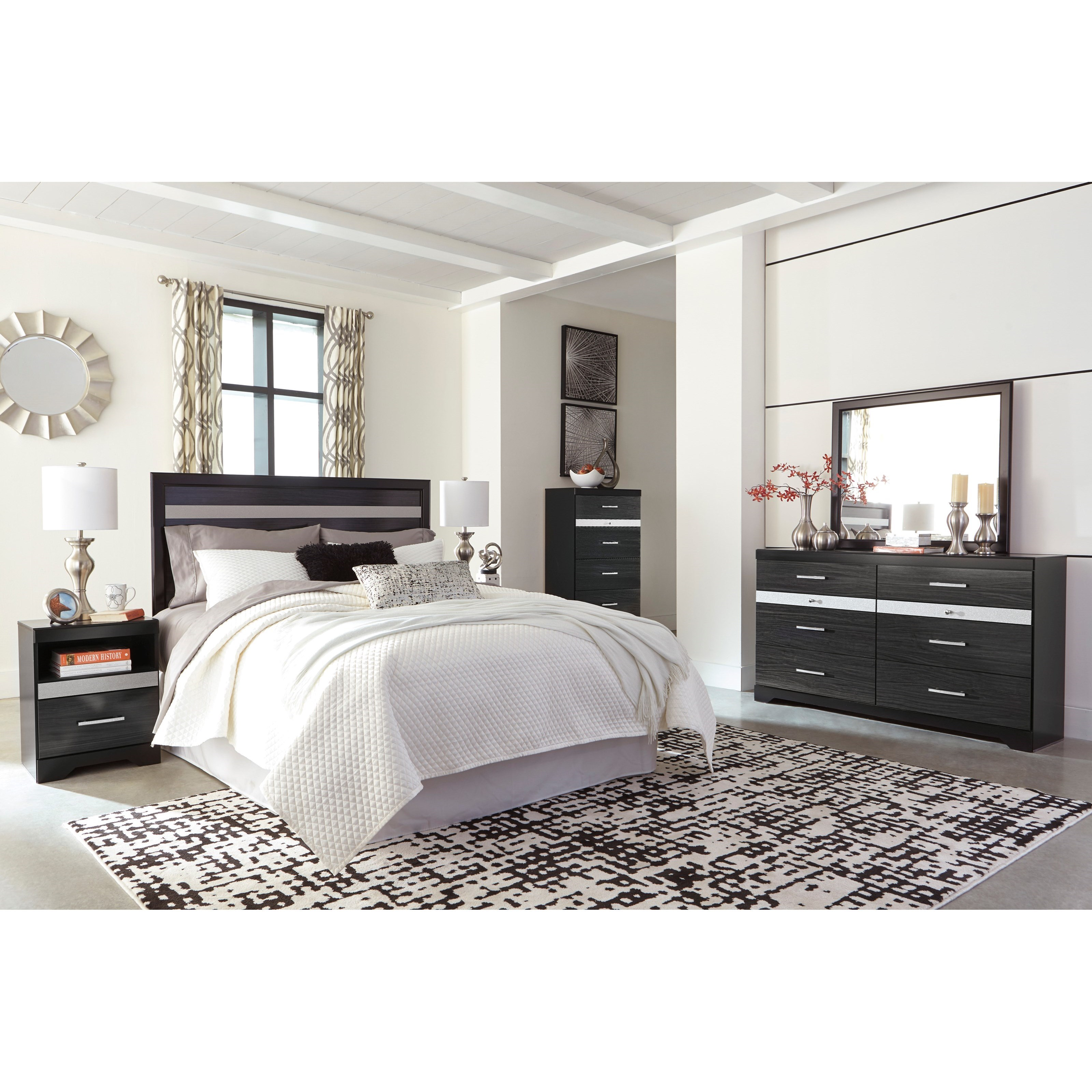 Ashley Furniture Superstore: Signature Design By Ashley Starberry Queen/Full Bedroom