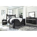 Signature Design by Ashley Starberry Queen Bedroom Group - Item Number: B304 Q Bedroom Group 4