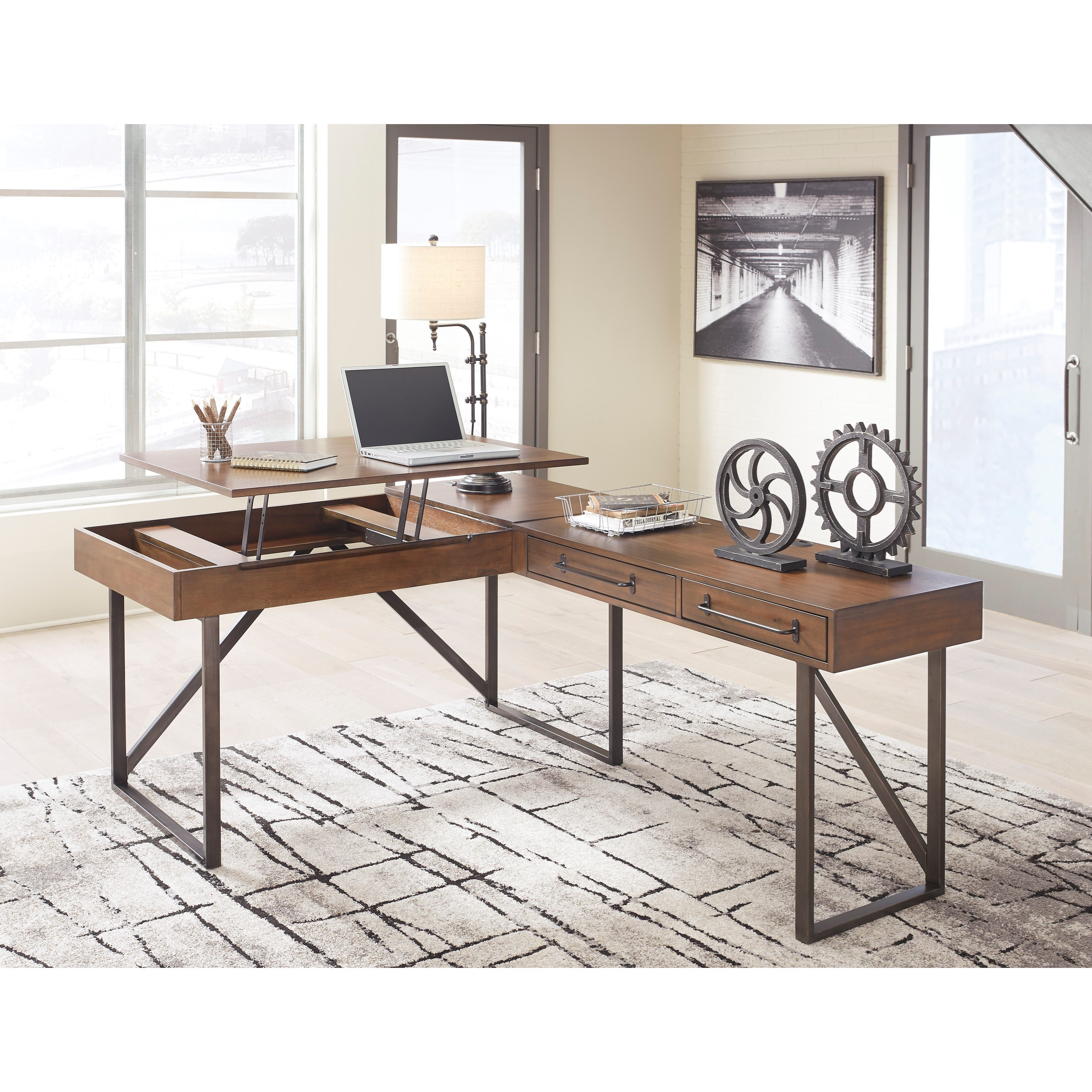 Signature Design By Ashley Starmore Home Office Desk With