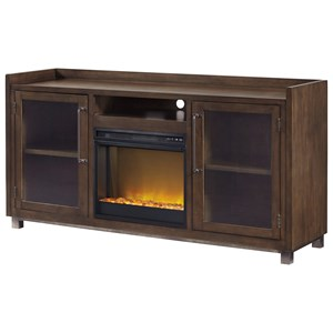 XL TV Stand w/ Fireplace