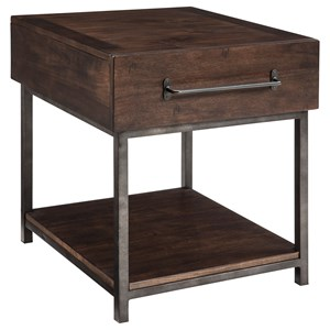 StyleLine Josh Rectangular End Table