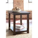 Signature Design by Ashley Starmore Chair Side End Table with Cast Cement Top