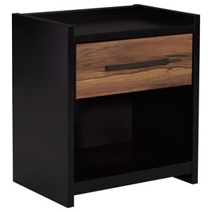Signature Design by Ashley Stavani One Drawer Night Stand