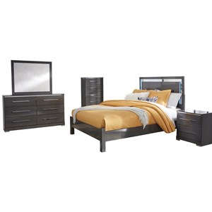 Signature Design by Ashley Steelson Queen Bedroom Group