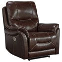 Signature Design by Ashley Stolpen Power Recliner with Adjustable Headrest - Item Number: 5650313