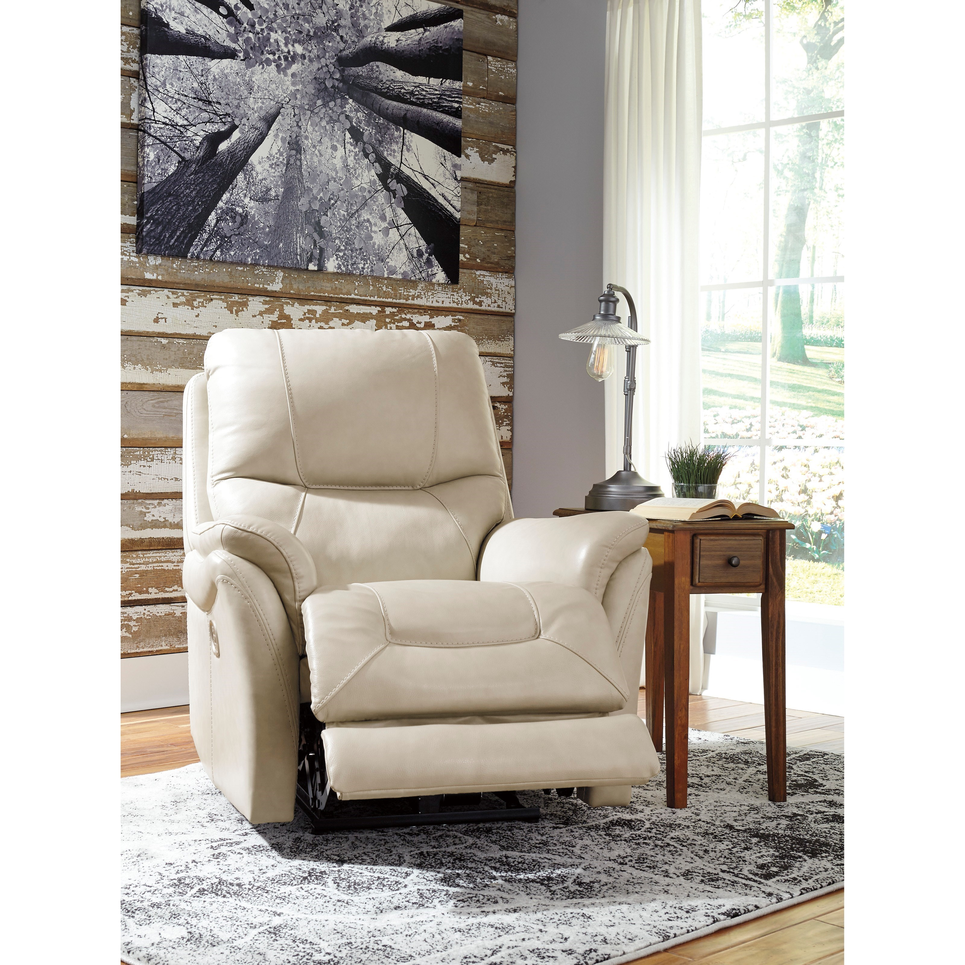 Signature Design By Ashley Stolpen Power Recliner With