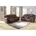 Signature Design by Ashley Stoneland Power Reclining Living Room Group - Item Number: 39904 Living Room Group 2