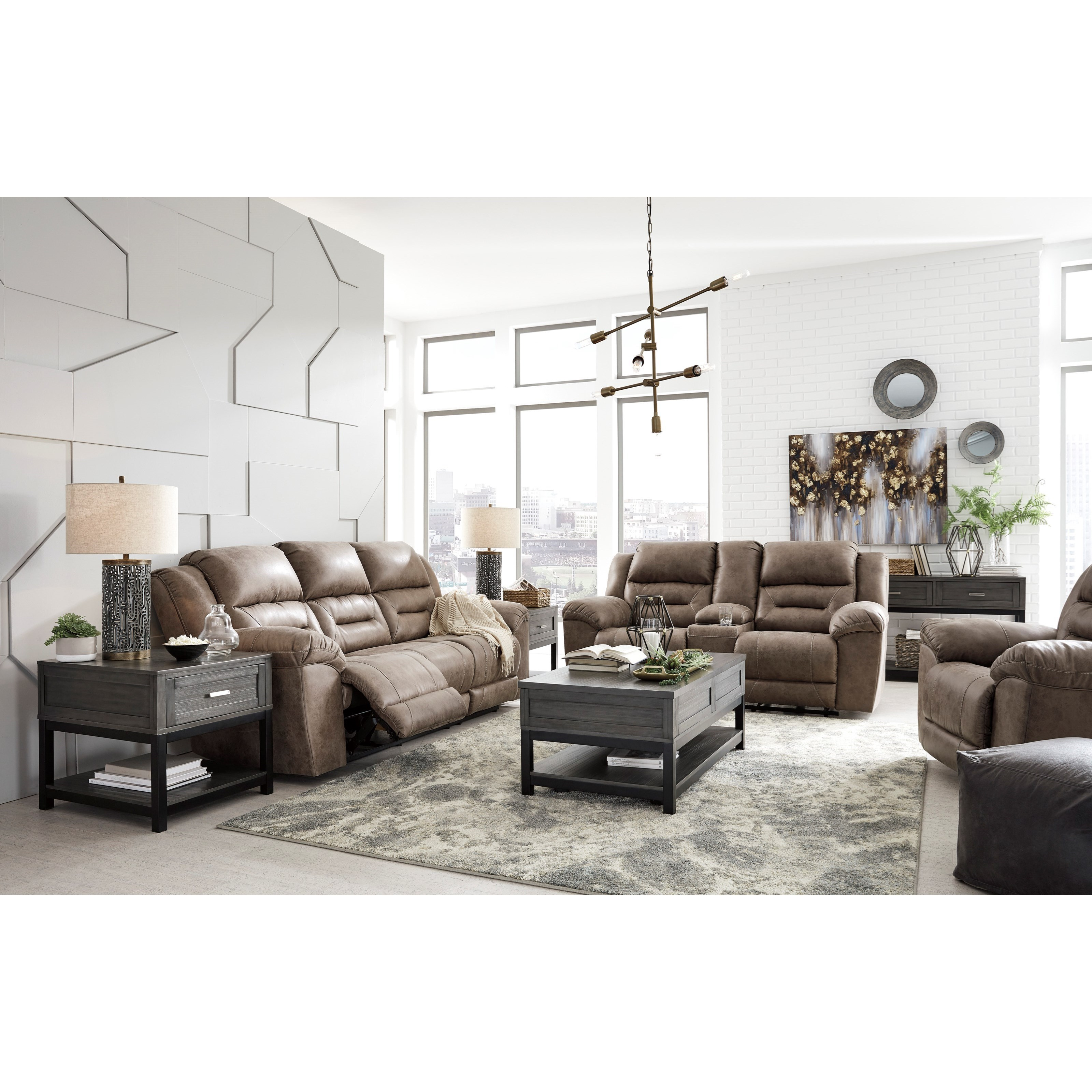 Stoneland Reclining Living Room Group by Signature Design by Ashley at Westrich Furniture & Appliances