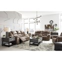 Signature Design by Ashley Stoneland Reclining Living Room Group - Item Number: 39905 Living Room Group 3