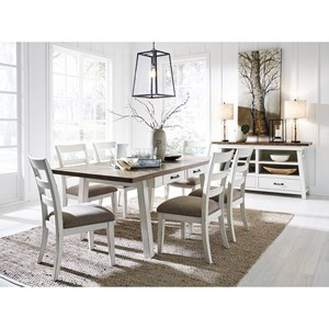 Signature Design by Ashley Stownbranner Formal Dining Room Group