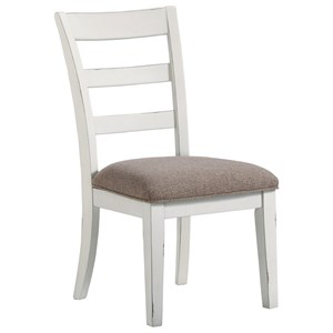 Signature Design by Ashley Stownbranner Dining Upholstered Side Chair