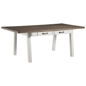 Signature Design by Ashley Stownbranner Rectangular Dining Room Table