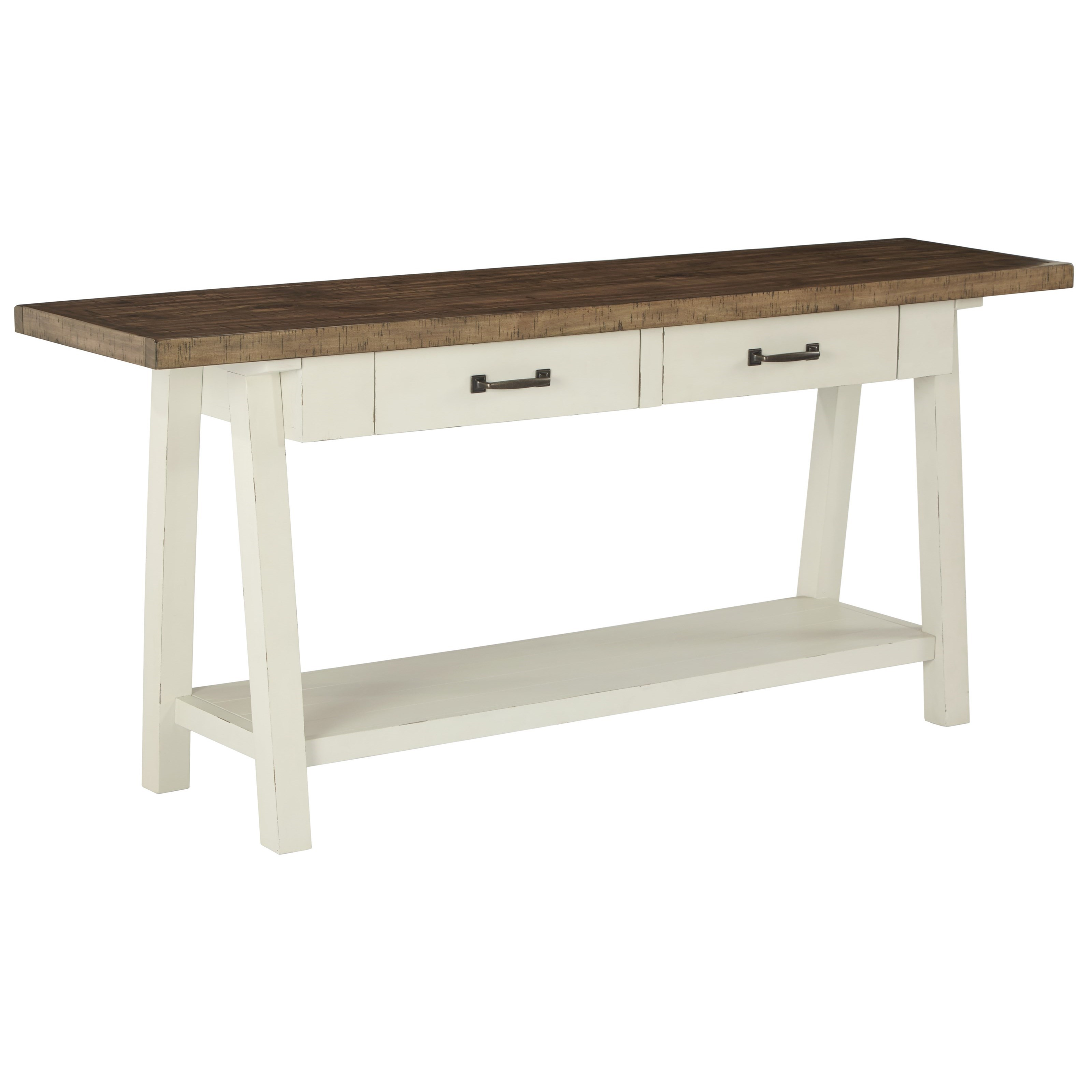 Signature Design by Ashley Stownbranner Sofa Table - Item Number: T640-4