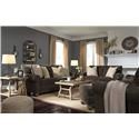 Signature Design by Ashley Stracelen Sofa, Chair and Ottoman Set - Item Number: 125380600