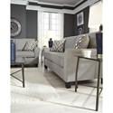 Signature Design by Ashley Strehela Contemporary Sofa with Flare Arms