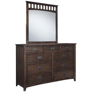 Signature Design by Ashley Strenton Dresser and Mirror