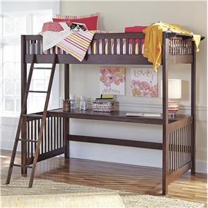 Signature Design by Ashley Strenton Loft Bed