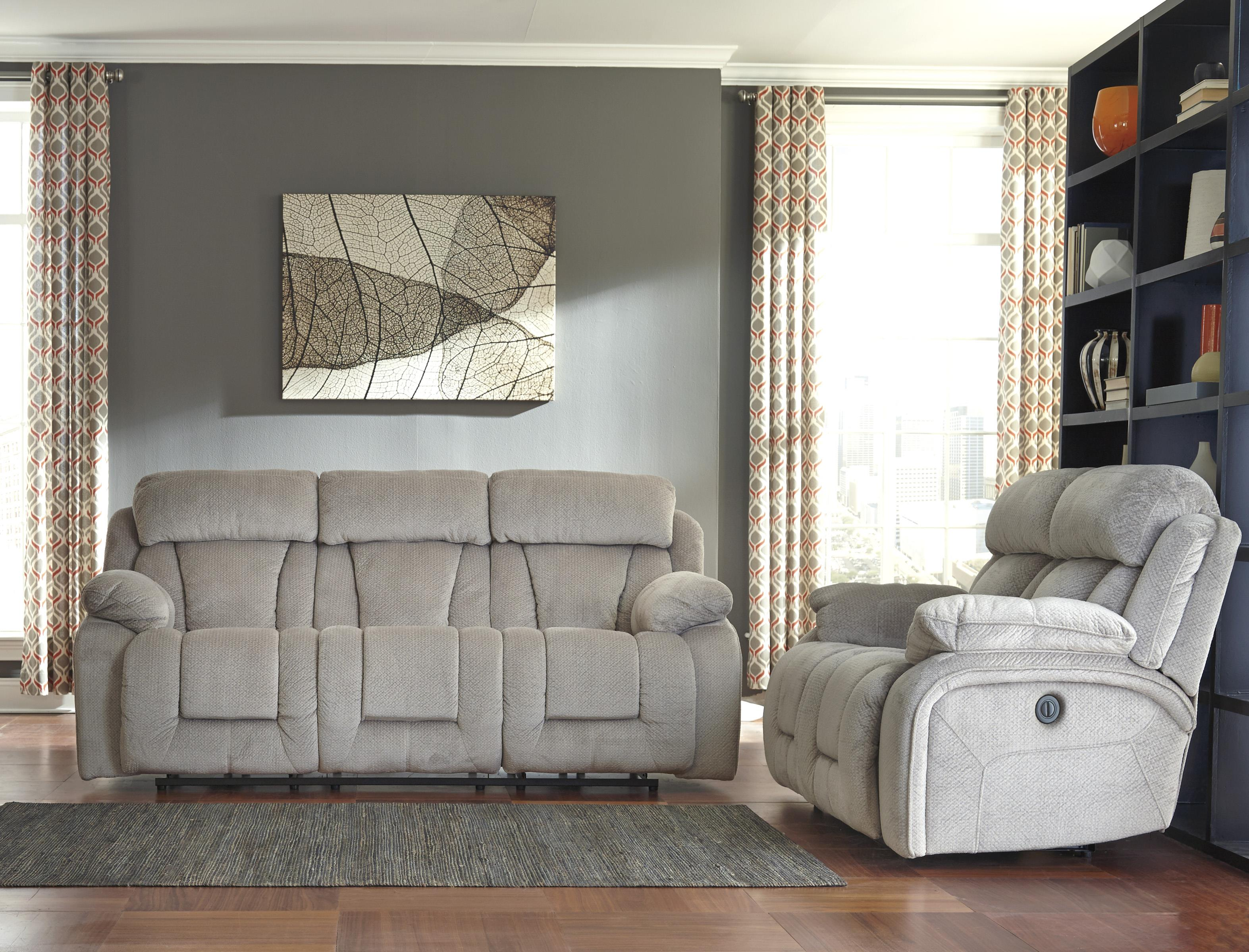 Signature Design by Ashley Stricklin Reclining Living Room Group - Item Number: 86504 Living Room Group 1