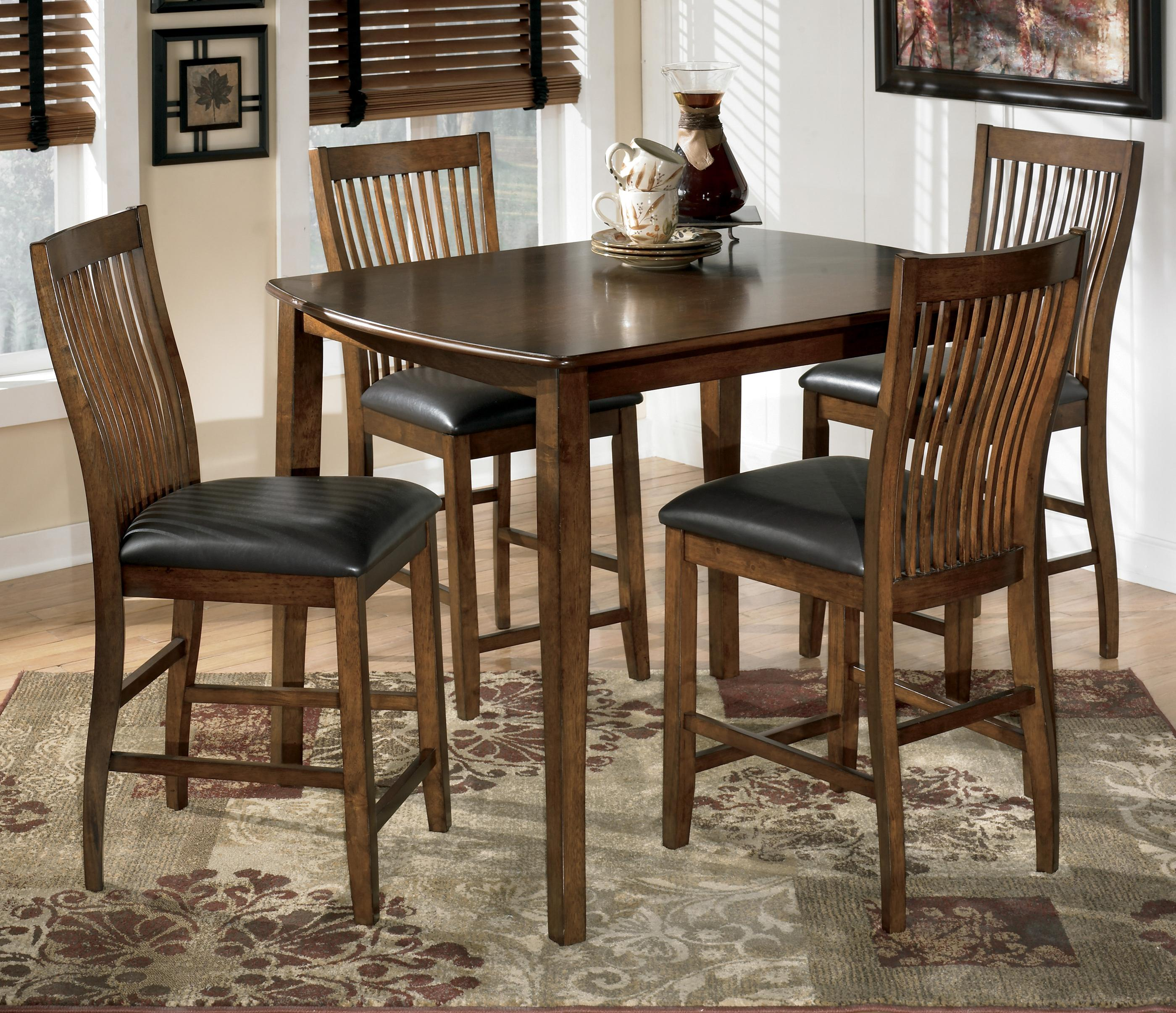 Ashley Furniture Kitchen Table And Chairs Signature Design By Ashley Furniture Stuman 5 Piece Rectangular