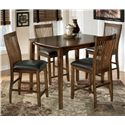 Signature Design by Ashley Stuman Rectangular Dining Room Counter Table Set - Item Number: D293-223