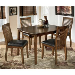 Ashley Signature Design Stuman Rectangular Dining Room Table Set