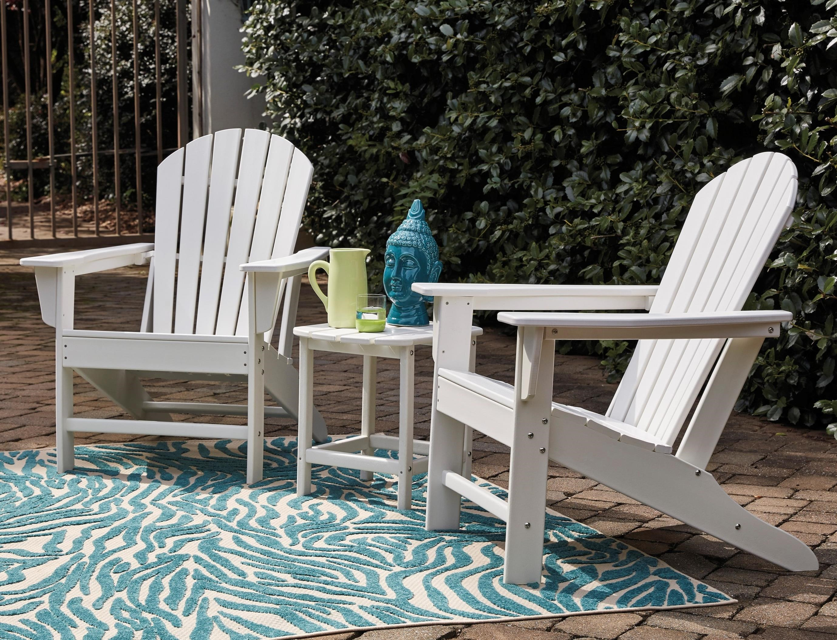 2 Adirondack Chairs and End Table Set