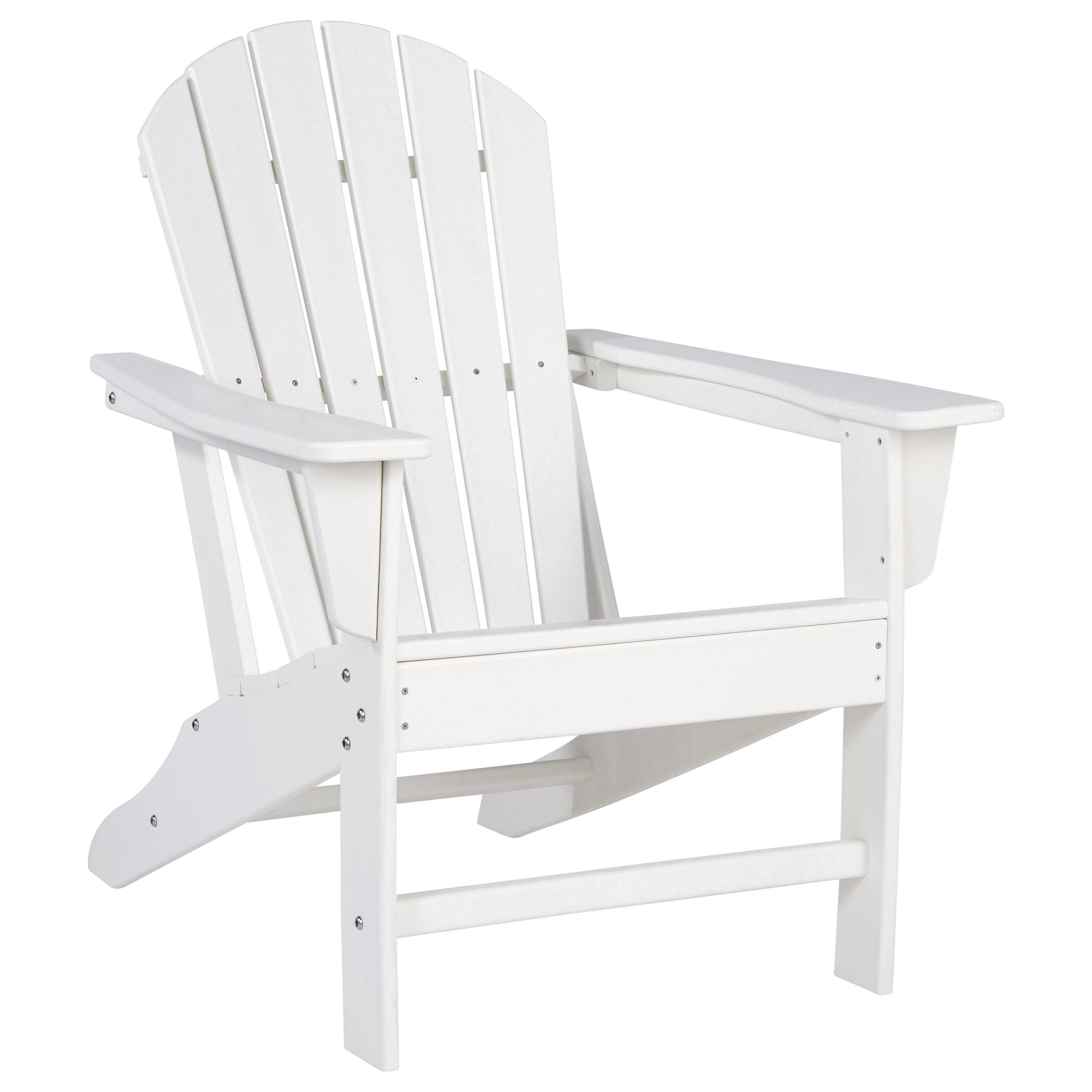 Adirondack White Adirondack Chair by Signature Design by Ashley at Rotmans