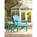 Signature Design by Ashley Sundown Treasure Adirondack Chair - End Table Sold Separately