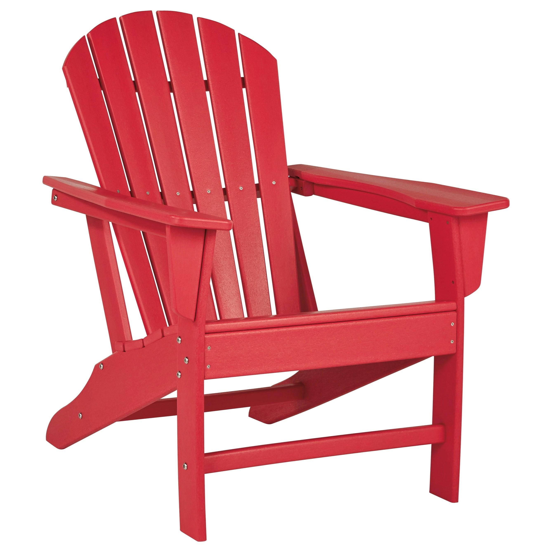 Sundown Treasure Adirondack Chair by Signature at Walker's Furniture