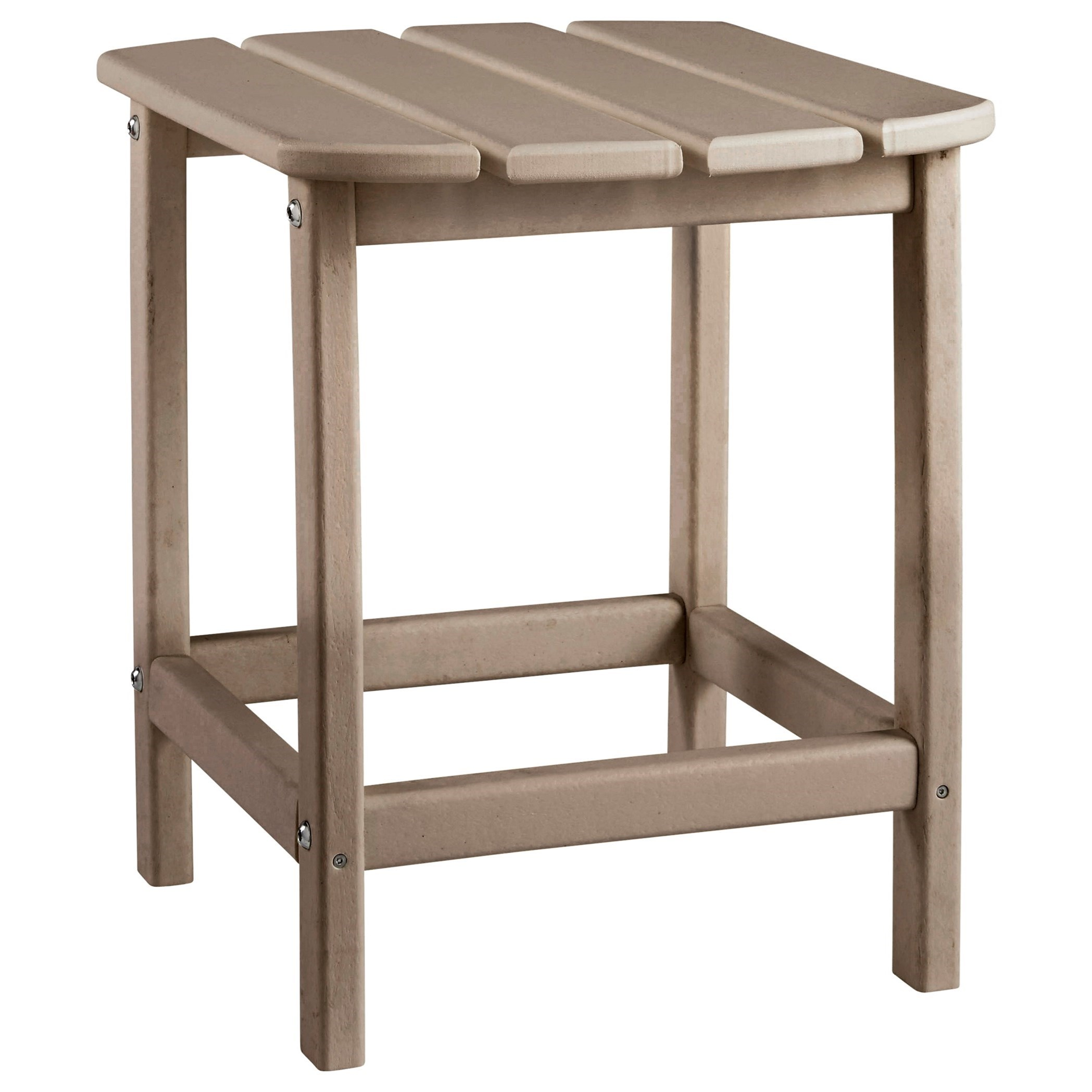 Adirondack Grey/Brown Rectangular End Table by Signature Design by Ashley at Rotmans