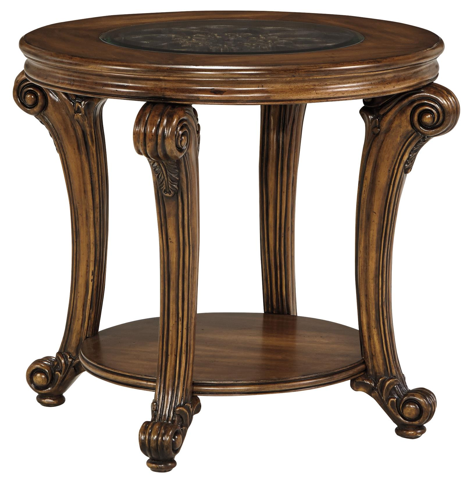 Signature Design by Ashley Sydmore Round End Table - Item Number: T799-6