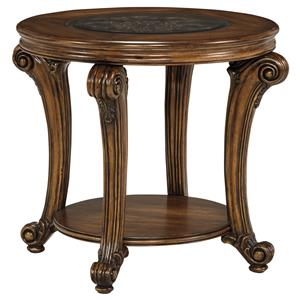 Signature Design by Ashley Sydmore Round End Table