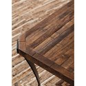 Signature Design by Ashley Taddenfeld Solid Wood and Metal Square Cocktail Table