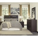 Signature Design by Ashley Tadlyn Queen/Full Bedroom Group - Item Number: B146 Q Bedroom Group 4