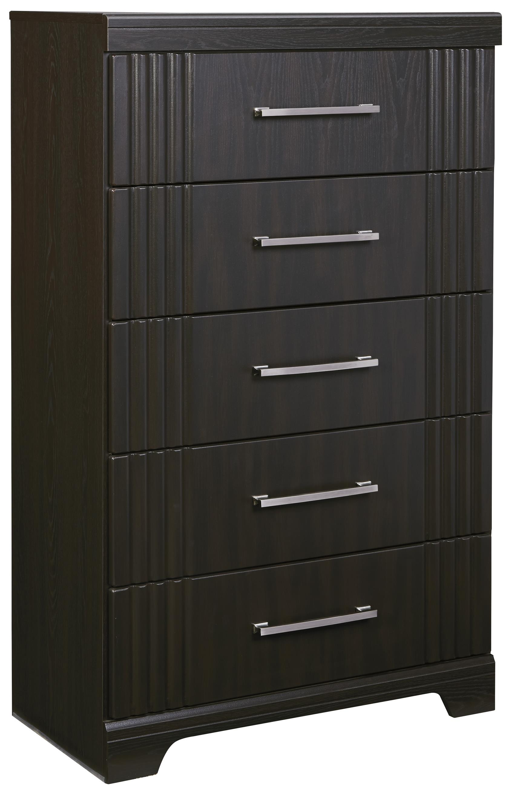 Signature Design by Ashley Tadlyn Five Drawer Chest - Item Number: B146-46