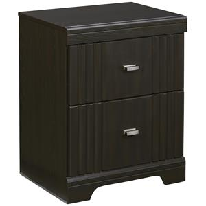 Signature Design by Ashley Tadlyn Two Drawer Night Stand