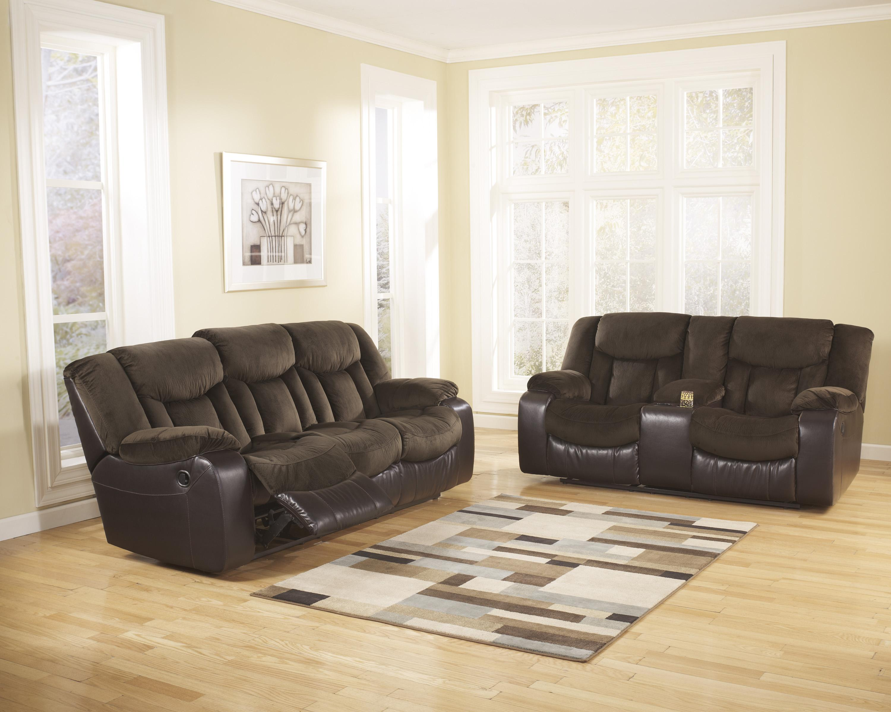 Signature Design by Ashley Tafton - Java Reclining Living Room Group - Item Number: 79202 Living Room Group 1