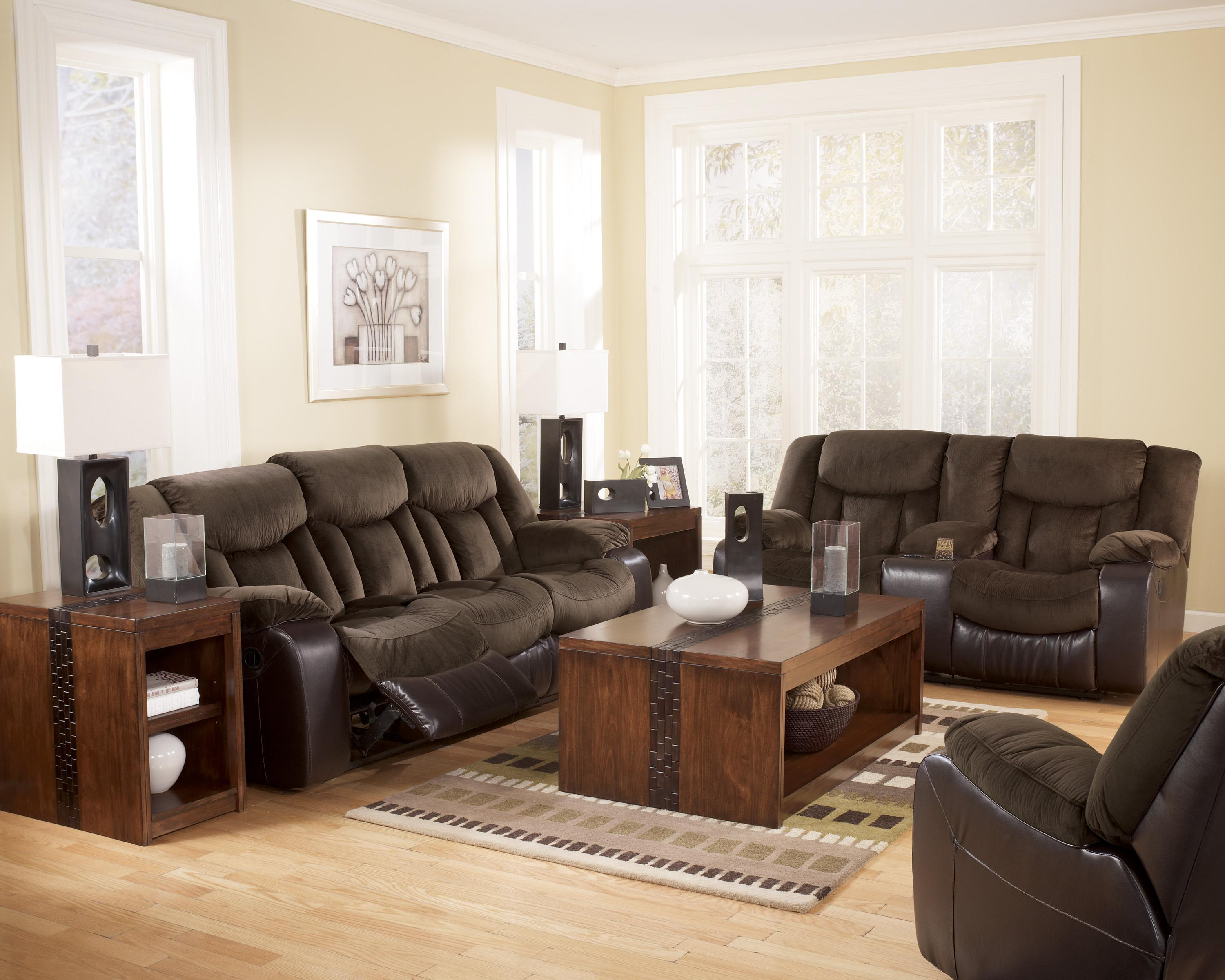 Signature Design by Ashley Tafton - Java Reclining Living Room Group - Item Number: 79202 Living Room Group 2