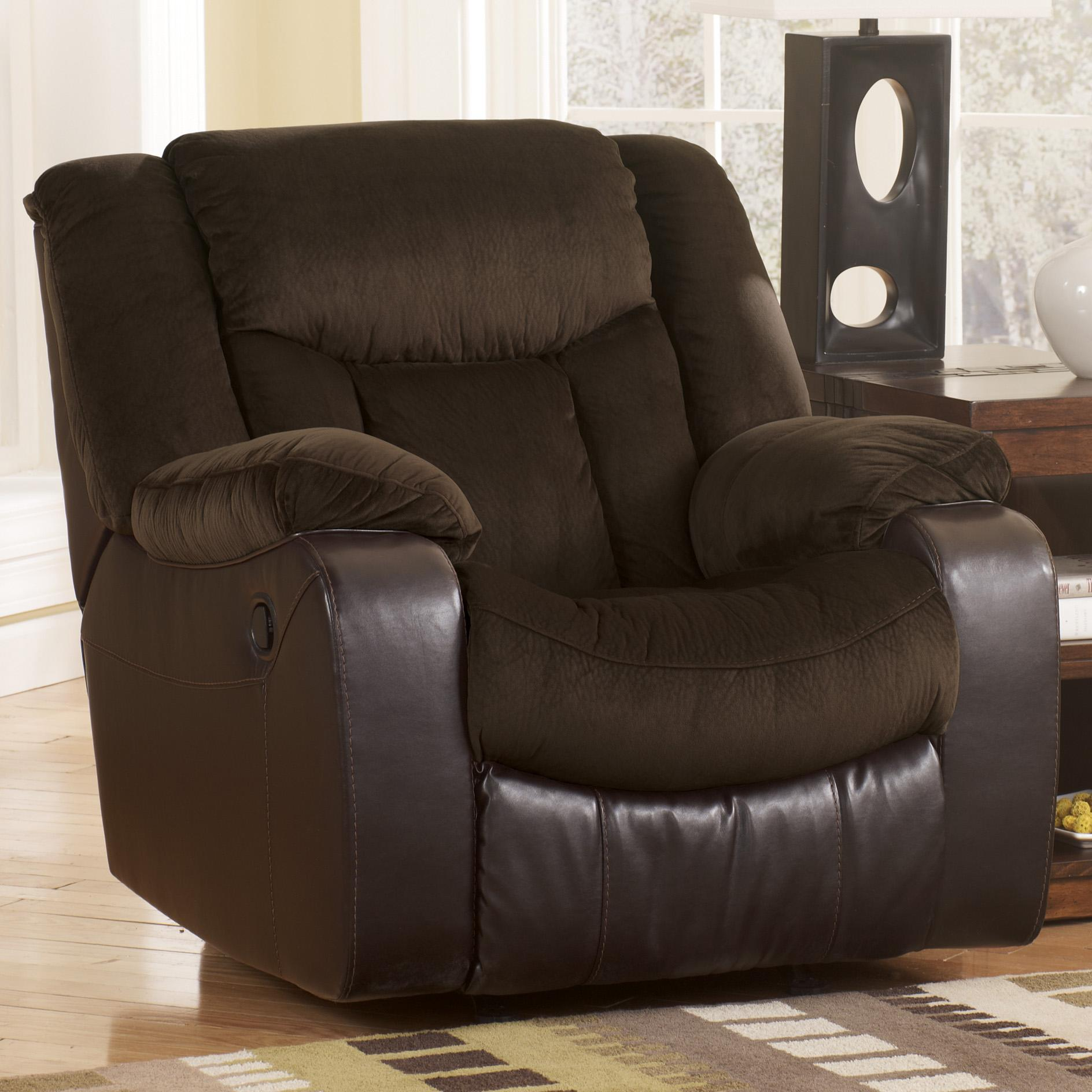 Signature Design by Ashley Tafton - Java Rocker Recliner - Item Number: 7920225