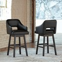 Signature Design by Ashley Tallenger Tall Bar Stool  - Item Number: D380-930